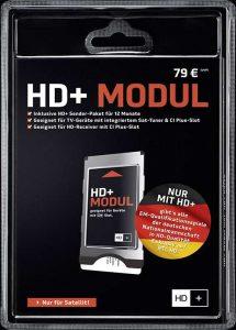 Ein spezielles Modul macht den Empfang von HD+ zu Hause möglich. Foto: djd/HD Plus