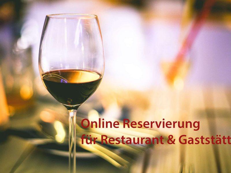 Online Reservierung für Restaurant und Gaststätte