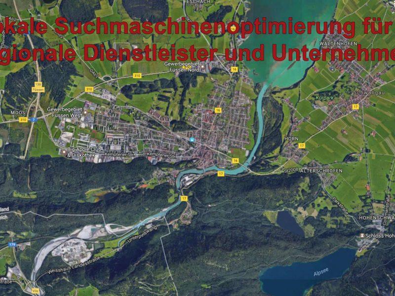 Lokale Suchmaschinenoptimierung / Local SEO