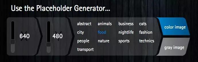 Lorem Pixel Platzhalter Generator Online