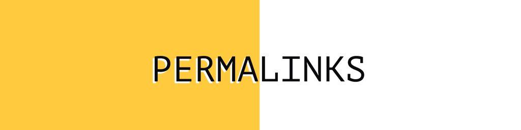 Sprechende URL - Permalinks