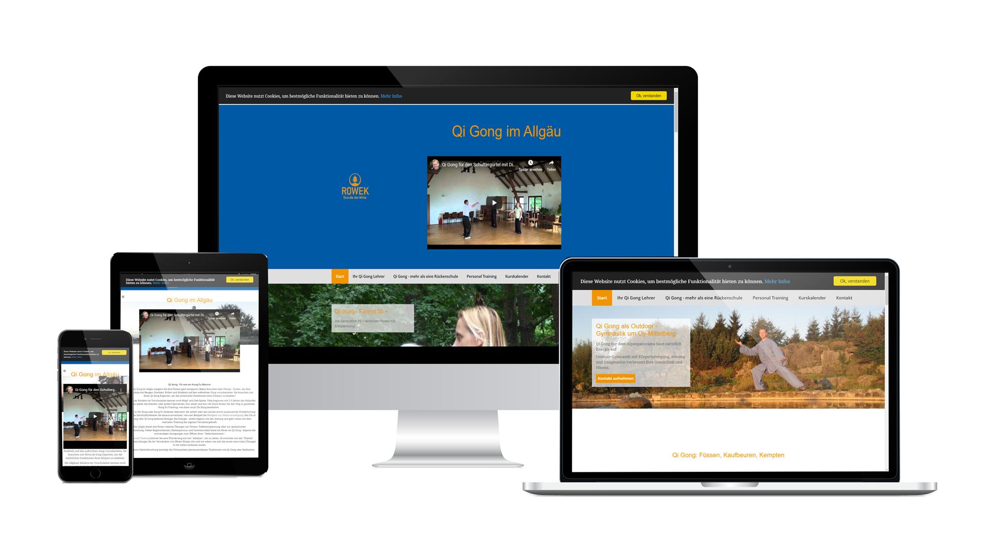Webdesign QiGong Expert